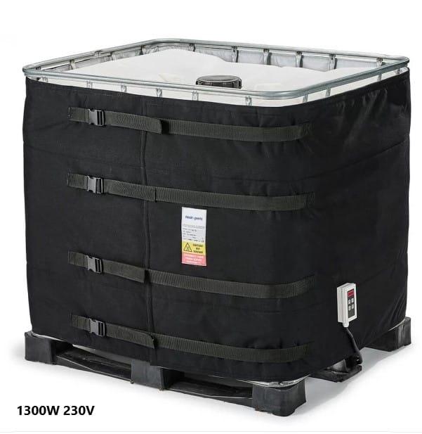 1000L IBC konteiner mahuti soojendus veesoojendi paigaldamine