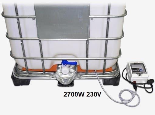 IBC konteiner mahuti küttematt küttekeha