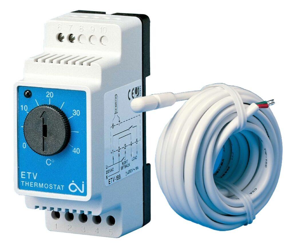 põrandakütte termostaat