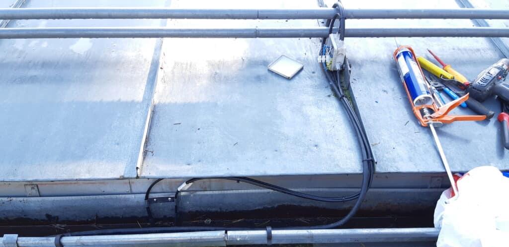 lumesulatuskaabel katusele
