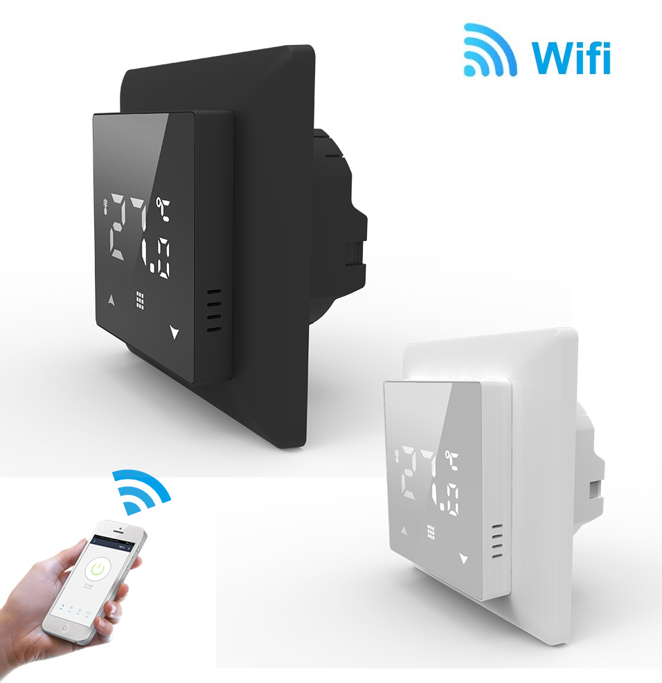 Wifi põrandakütte termostaat temperatuuri regulaator