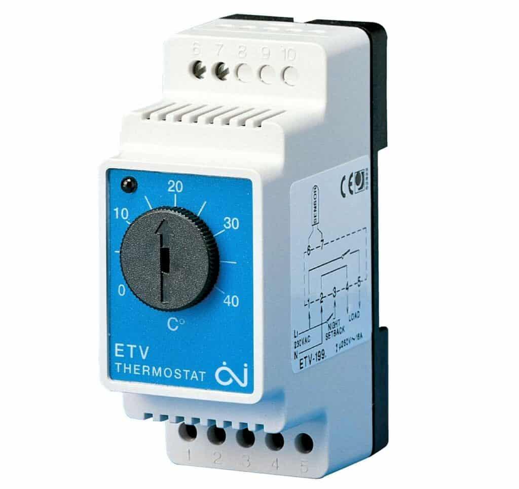Põrandakütte termostaat devireg temperatuuri regulaator