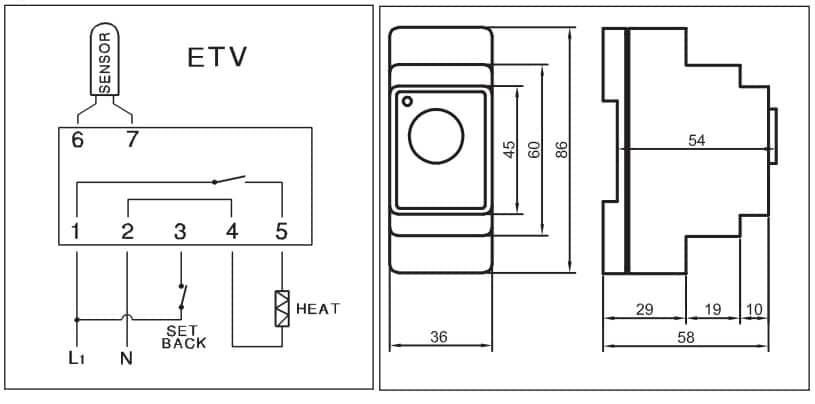 põrandakütte termostaat devireg 330